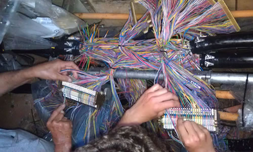 Buck S Communications Fiber And Copper Splicing